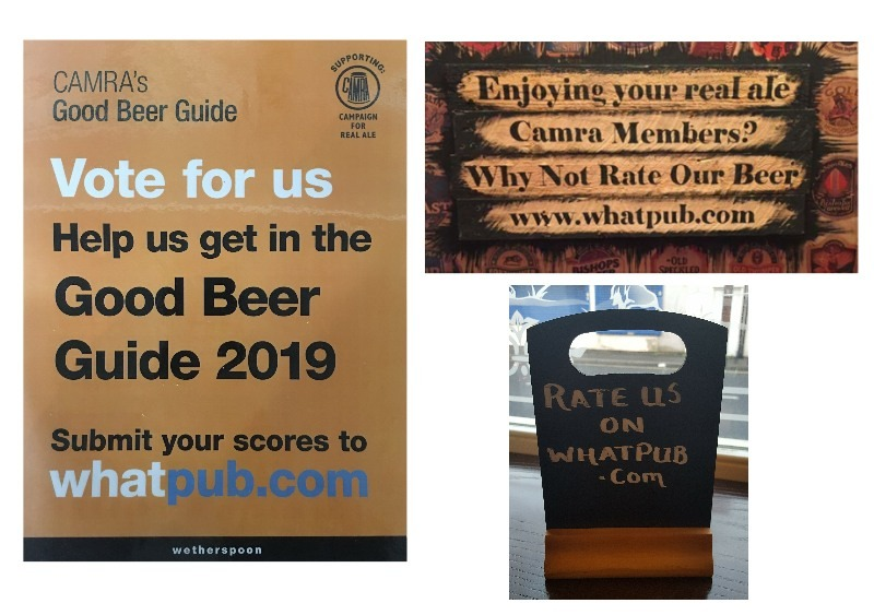 Beer Scoring in pubs